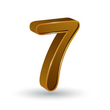 number 7: number 7
