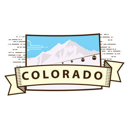 state of colorado: colorado state map