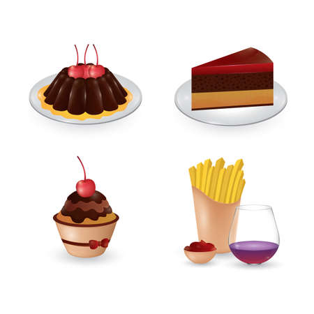cake slice: food collection