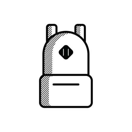 lightweight: backpack Illustration