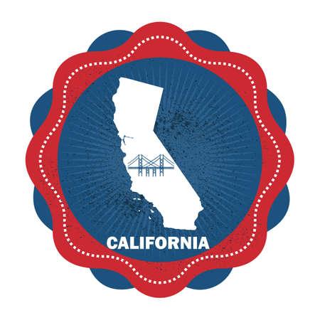 california state: california state map Illustration