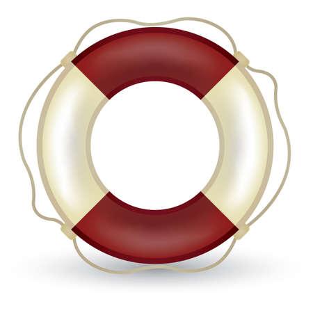 rubber tube: lifesaver