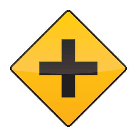 roadsigns: crossroads sign