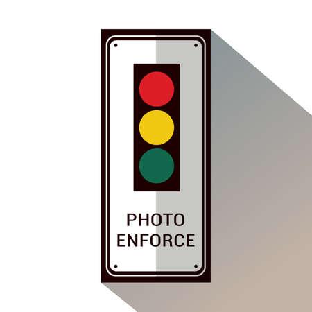 Verkeerssignalen.