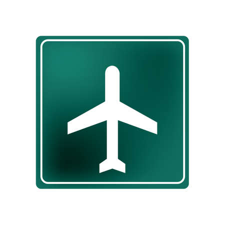 airport sign Illustration