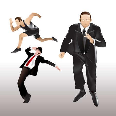 human beings: men in action