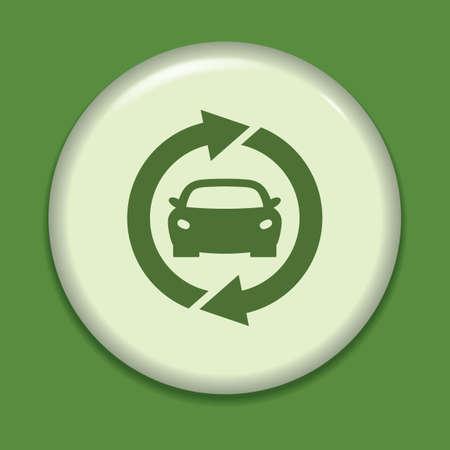 eco car: eco car icon