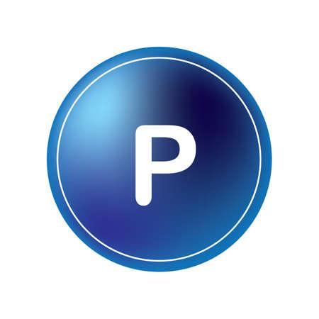 Panneau de stationnement Banque d'images - 81485037