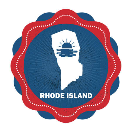 island state: rhode island state map