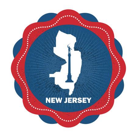 jersey: new jersey state map