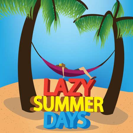 days: lazy summer days