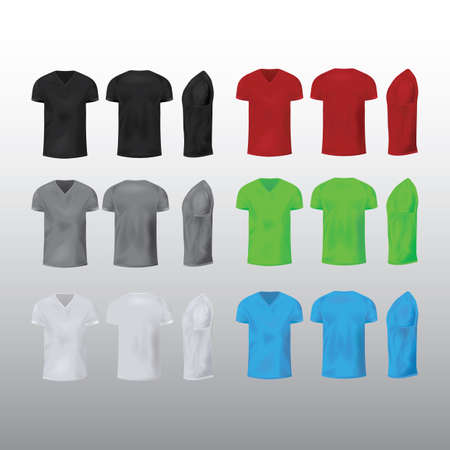 collection of t-shirts Illustration