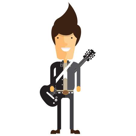 rock star Illustration