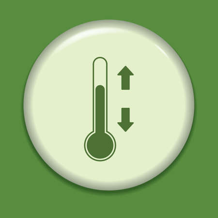 increases: thermometer icon