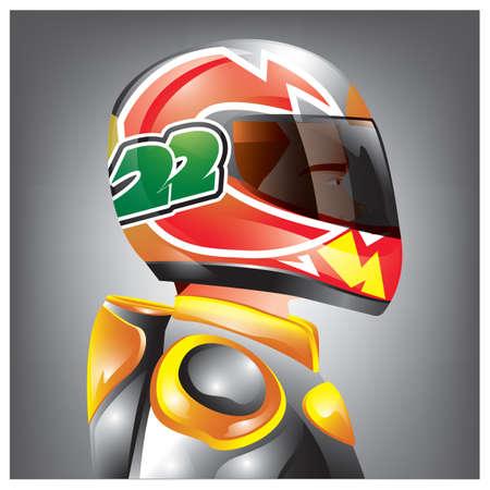 racer Illustration