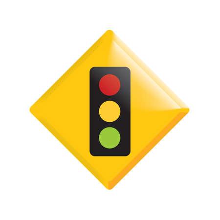 traffic signal ahead
