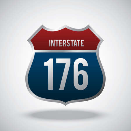 roadsigns: interstate 176 route marker