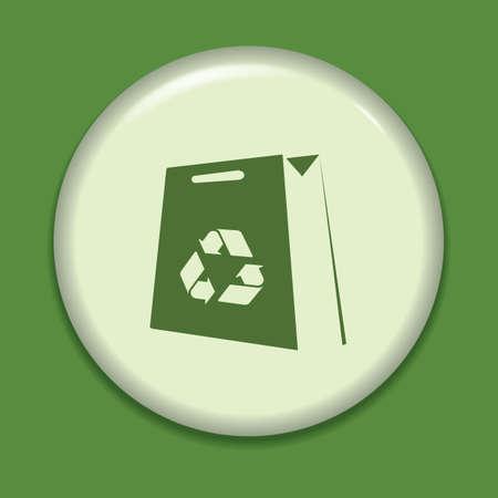 reusable: recycle bag icon