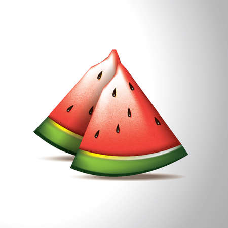 watermelon Stock Illustratie