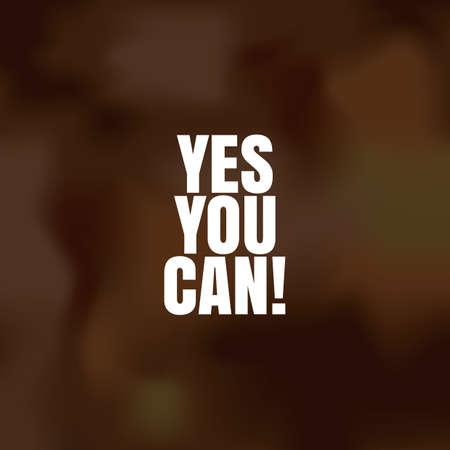 tu puedes: sí puedes Vectores