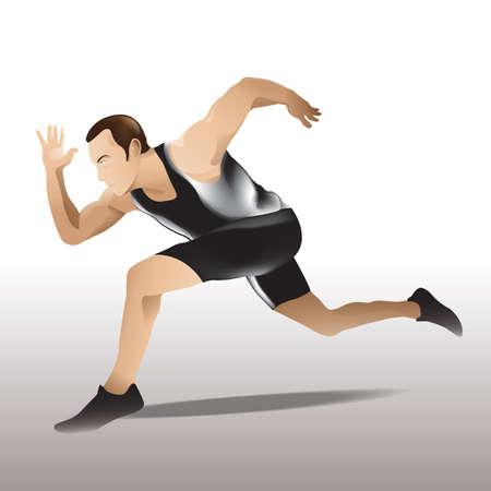 human beings: runner