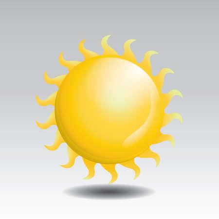 sun 向量圖像