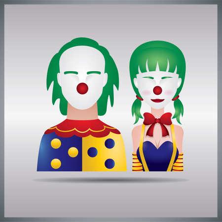 clown koppel