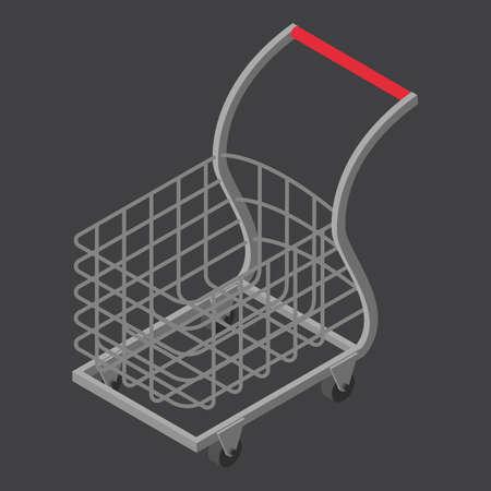 shopping cart Ilustração