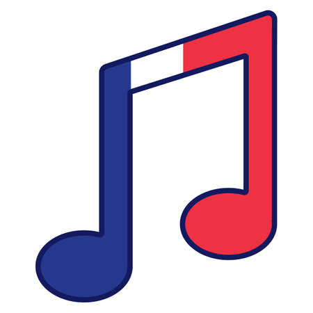 musical note Ilustracja