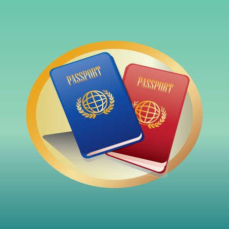 passports Foto de archivo - 106669787