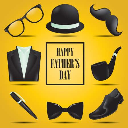 Joyeuse fête des Pères Banque d'images - 81485157