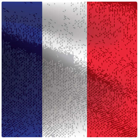france flag grunge background