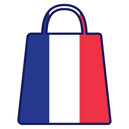 ショッピング バッグ  イラスト・ベクター素材