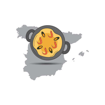 paella Illustration