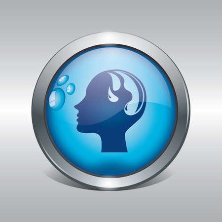 water conservation concept Иллюстрация
