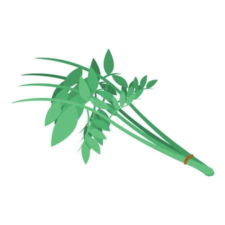 カレーの葉  イラスト・ベクター素材