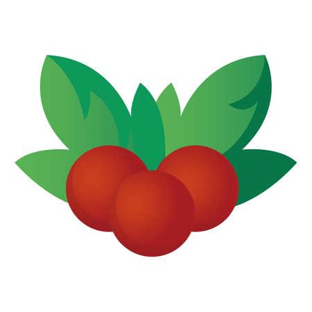 christmas holly berries Ilustração