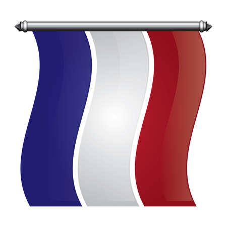 フランス旗ペナント