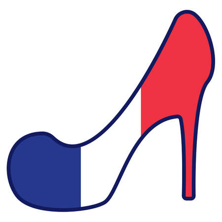 high heel shoe Ilustrace