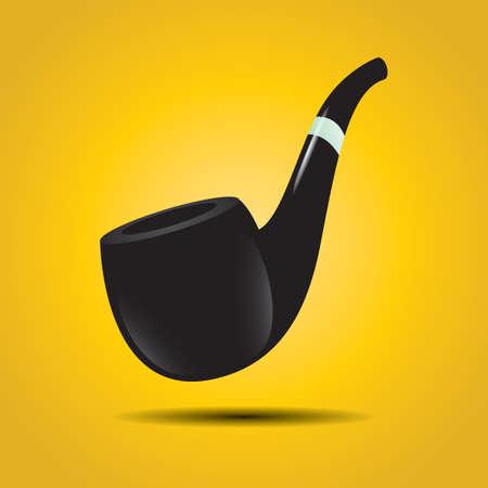 smoking pipe Фото со стока - 81485288