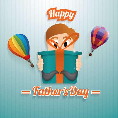 glückliche Vatertag Tapete