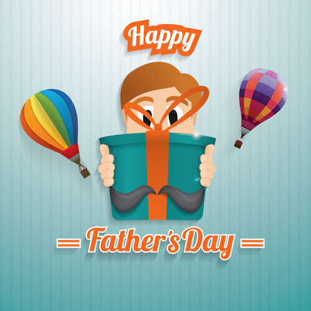 happy fathers day wallpaper Illustration