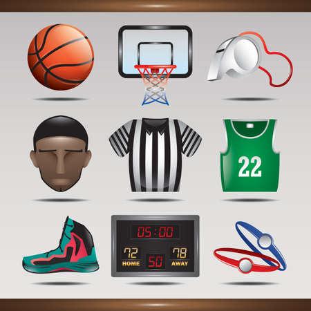 스포츠 아이콘의 컬렉션