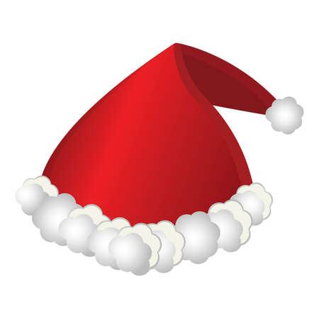 santa hat Иллюстрация