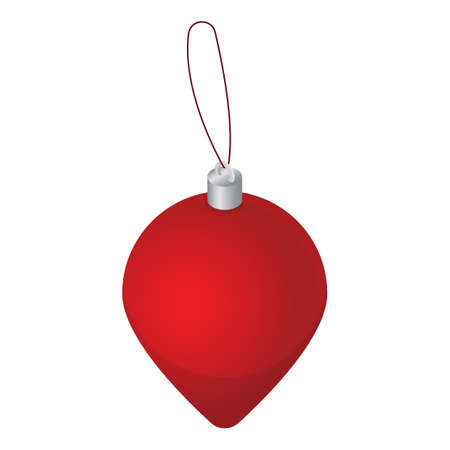 christmas bauble 向量圖像