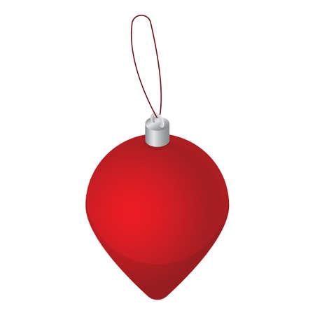 Weihnachtskugel Standard-Bild - 81485353