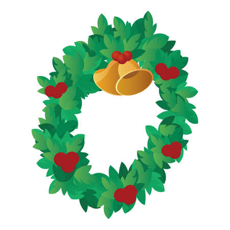 Kerstkrans Stockfoto - 81485355