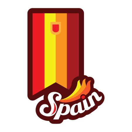 vlag wimpel Spanje