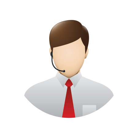 customer service Ilustração