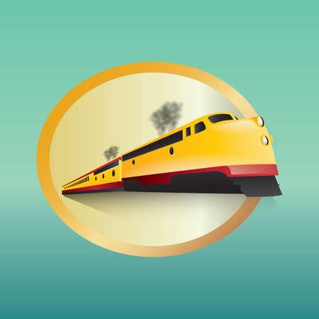 train Ilustrace